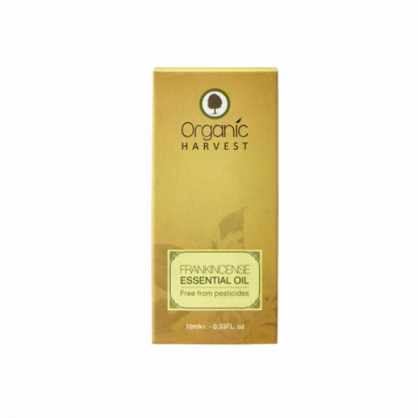 Organic Harvest Frankincense Essential Oil, 10ml