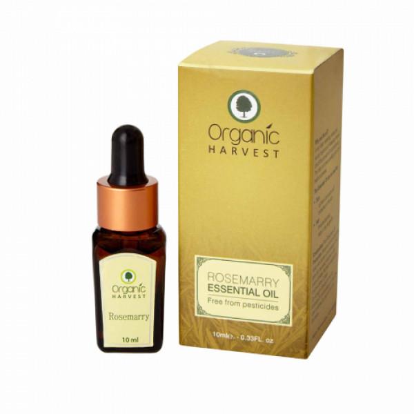 Organic Harvest Rosemary Essential Oil, 10ml
