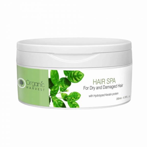 Organic Harvest Hair Spa for Dry and Damaged Hair, 200ml