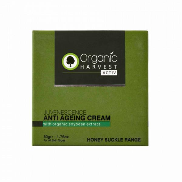 Organic Harvest Activ Range Anti Ageing Cream, 50gm