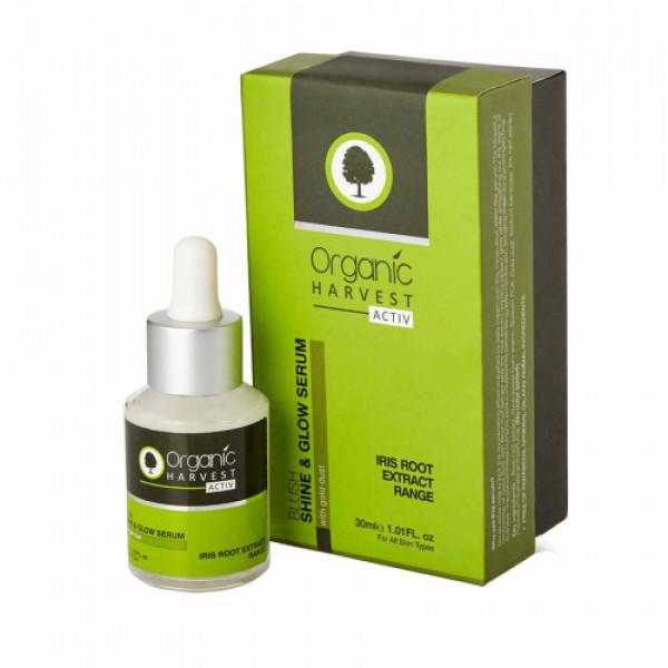 Organic Harvest Activ Range Shine & Glow Serum, 30ml