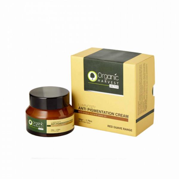 Organic Harvest Activ Range Anti Pigmentation Cream, 50gm