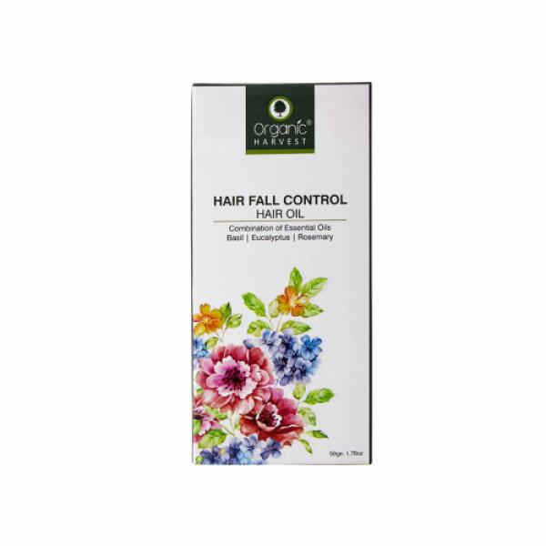 Organic Harvest Hair Oil for Hair Fall Control, 50gm