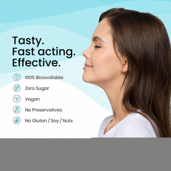 Wellbeing Nutrition Melts instant Throat Relief with 100% Natural Manuka Honey + Curcumin