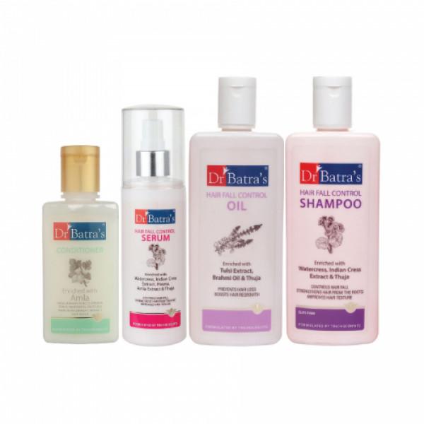 Dr Batra's Hair Fall Control Serum, Conditioner, Hair Fall Control Oil and Hair Fall Control Shampoo
