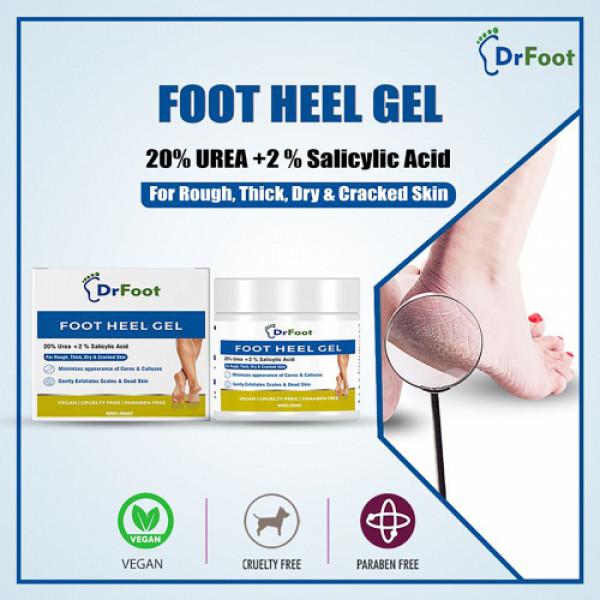 Dr Foot Moisturize Heel Gel, 100gm