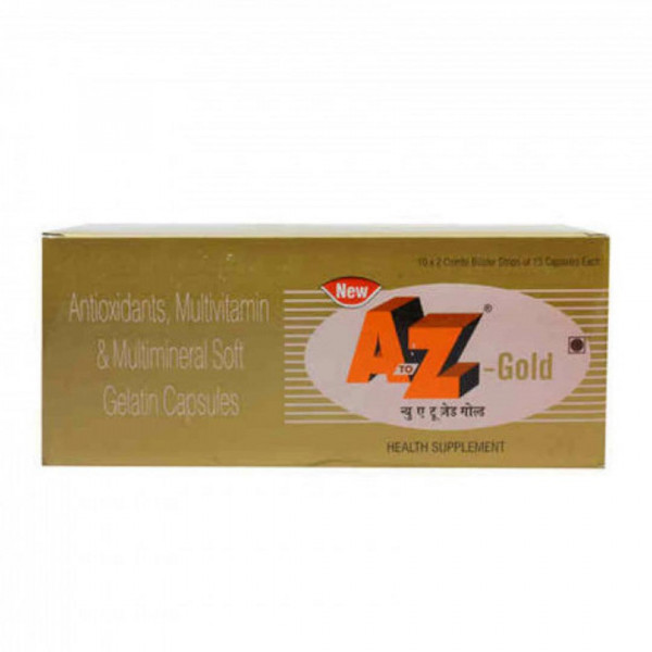 A To Z Gold, 15 Capsules