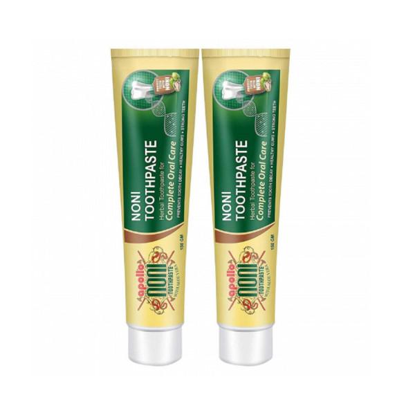 Apollo Noni With Aloevera Toothpaste, 150gm (Pack of 2)