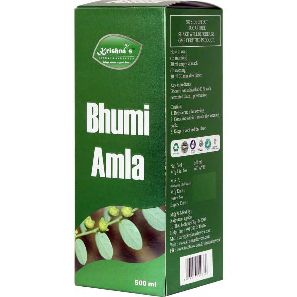 Krishna's Bhoomi Amla Juice, 500ml