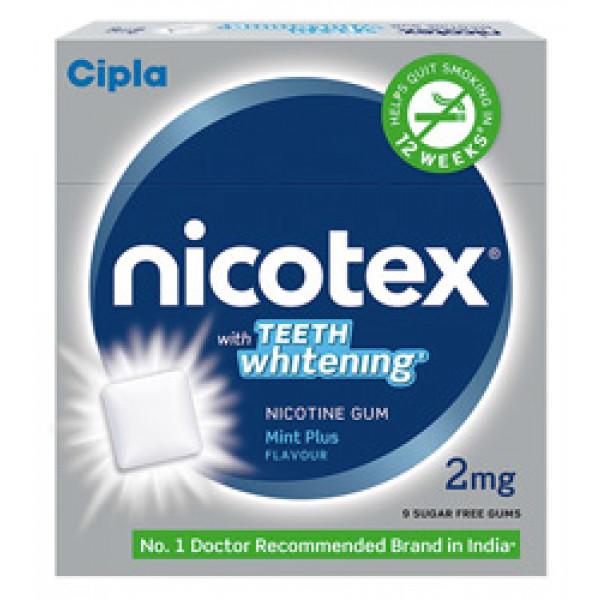 Nicotex Nicotine Teeth Whitening, Pack Of 3
