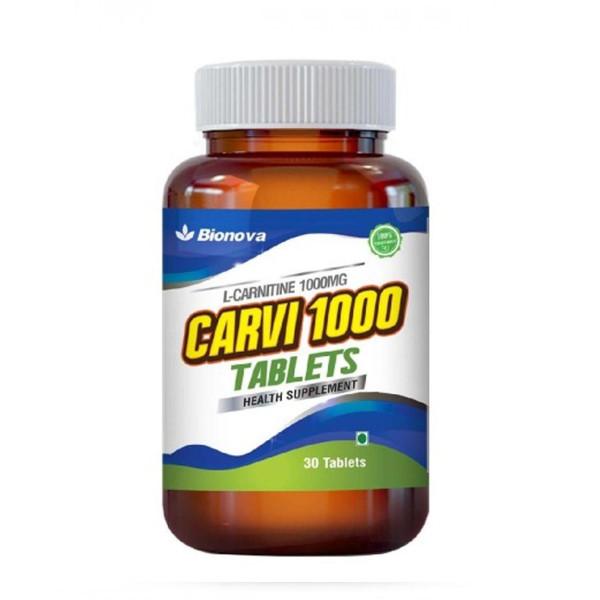 Bionova Carvi 1000, 30 Tablets