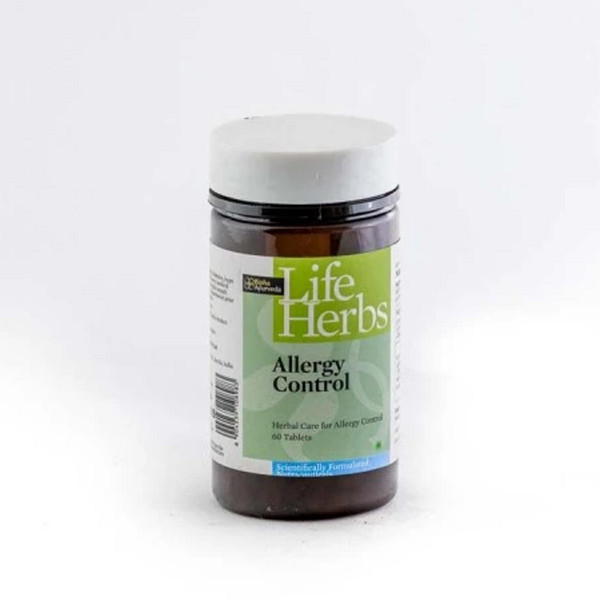 Bipha Ayurveda Allergy Control, 60 Tablets