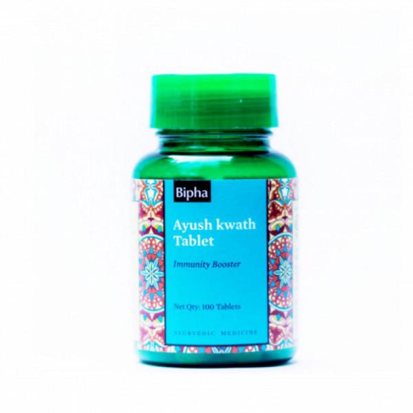 Bipha Ayurveda Ayush Kwath, 100 Tablets
