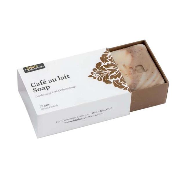 Bipha Ayurveda Caf Au-lait soap, 75gm