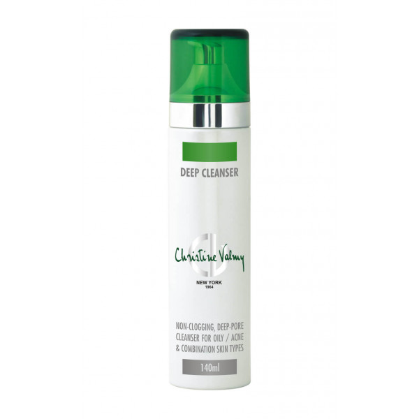 Christine Valmy Deep Cleanser - Oily Skin Cleanser, 140ml