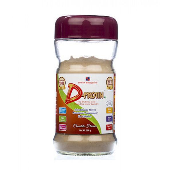 D Protin Chocolate Flavour, 200gm