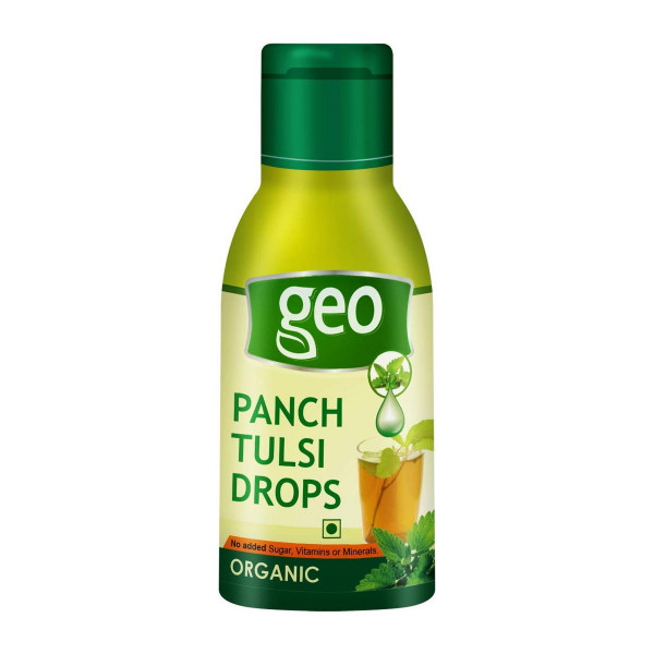 Geo Natural Panch Tulsi Drops, 20ml