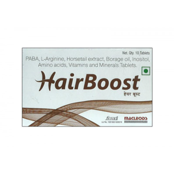 HairBoost, 10 Tablets