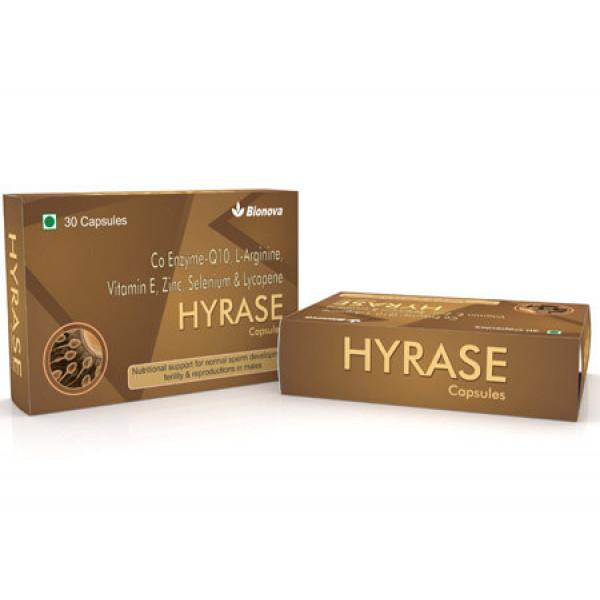 Bionova Hyrase, 30 Capsules