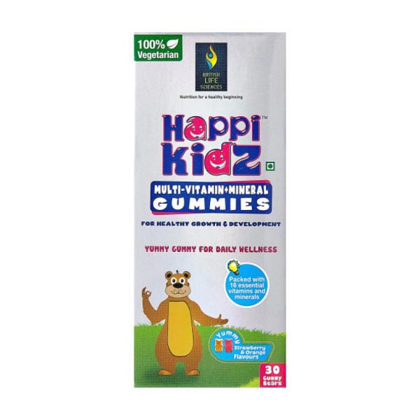 Happi Kidz Multi-Vitamin & Minerals, 30 Gummies