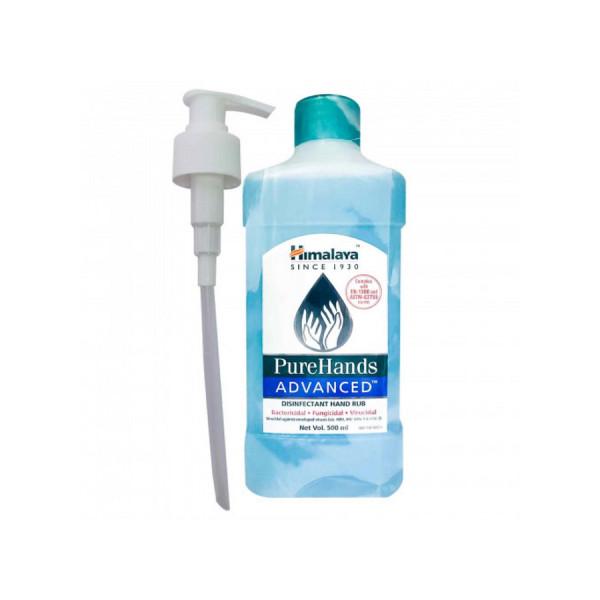 Himalaya PureHands Advanced Disinfectant Hand Rub 80% Alcohol w/w, 500ml