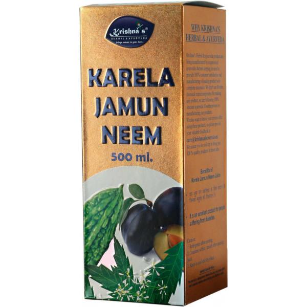 Krishna's Karela Jamun Neem Mix Juice, 500ml