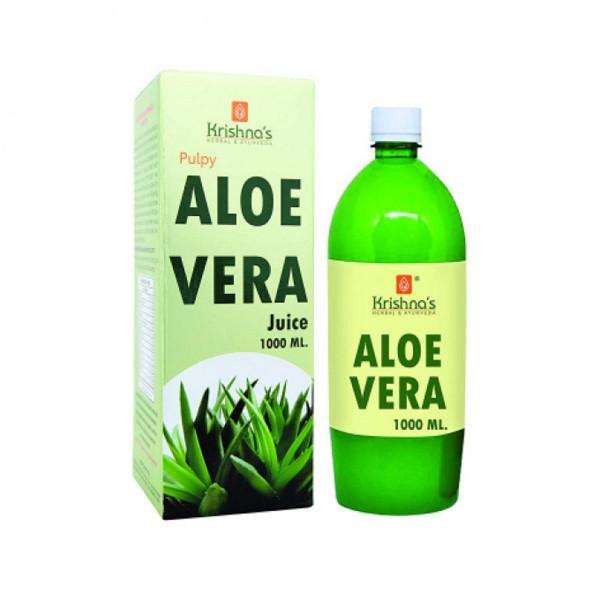 Krishna's Aloe Vera Juice (Complete All Round Tonic), 1000ml