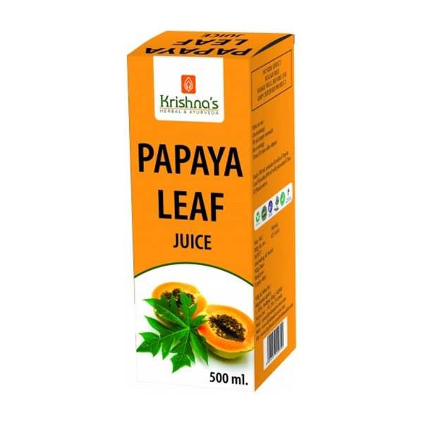 Krishna's Papaya Leaf Juice, 500ml