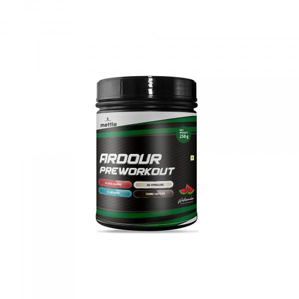 Mettle Ardour Pre Workout Green Apple, 250gm
