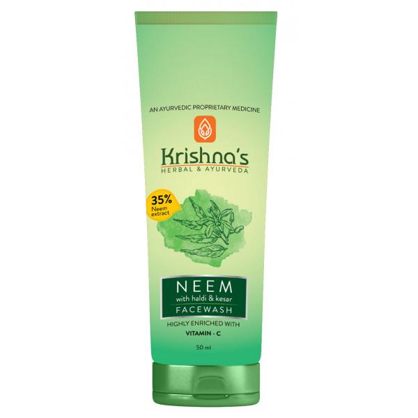 Krishna's Neem Face Wash, 100ml
