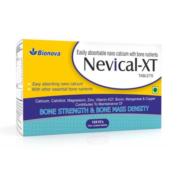Bionova Nevical XT, 10x10 Tablets