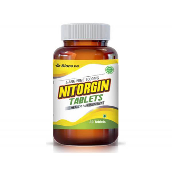 Bionova Nitorgin, 30 Tablets