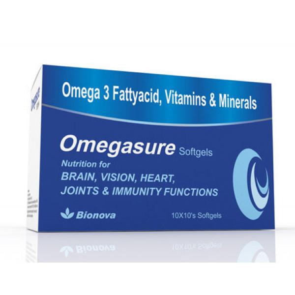 Bionova Omegasure, 10x10 Softgels