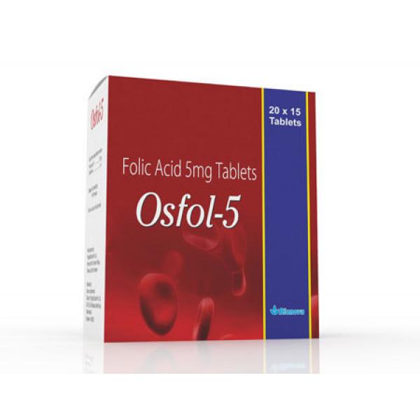 Bionova Osfol 5, 20x15 Tablets