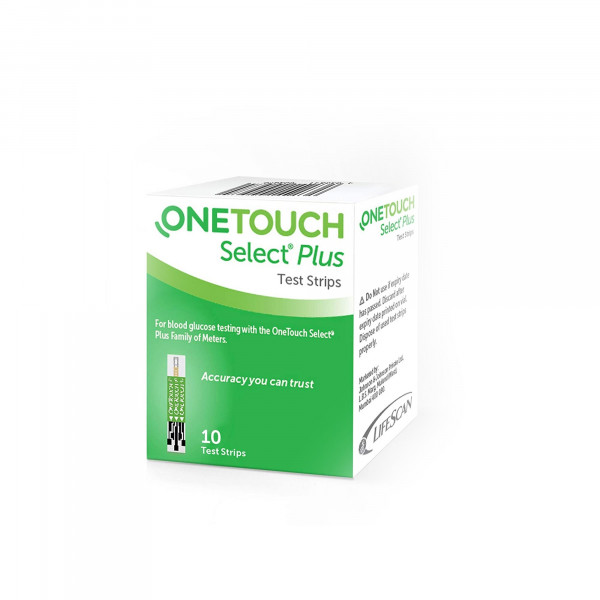 OneTouch Select Plus Test Strips, 10's