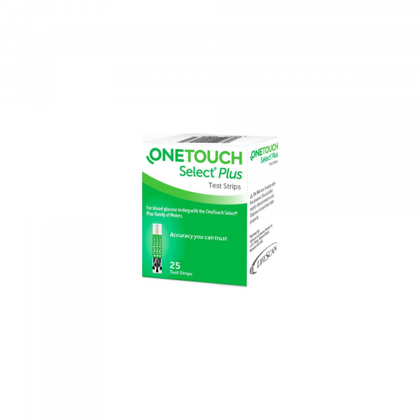 OneTouch Select Plus Test Strips, 25's