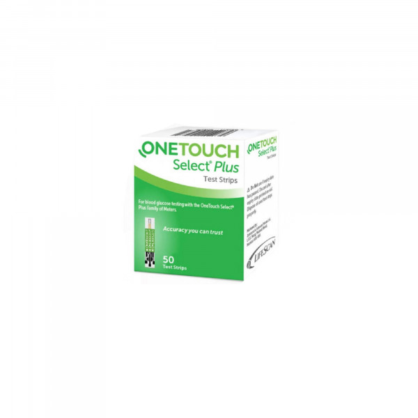 OneTouch Select Plus Test Strips, 50's