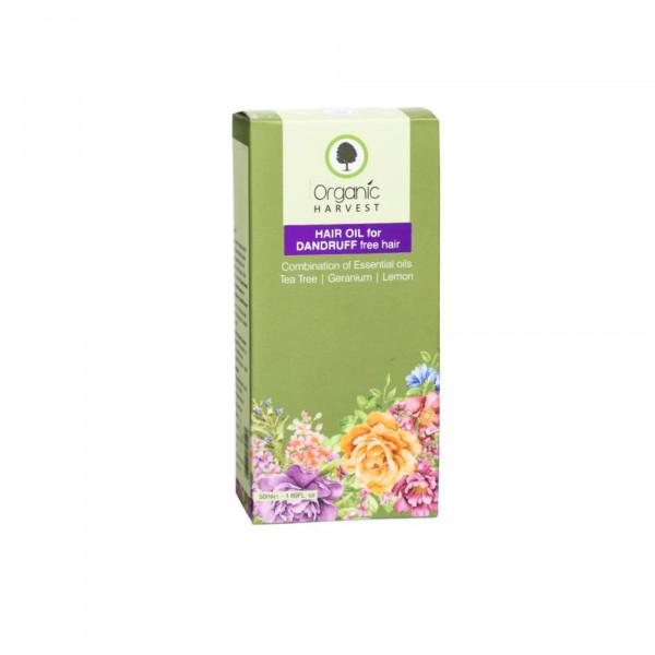 Organic Harvest Hair Oil for Dandruff Free Hair, 50ml
