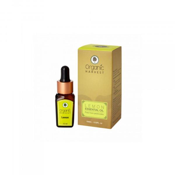 Organic Harvest Lemon Essential Oil, 10ml