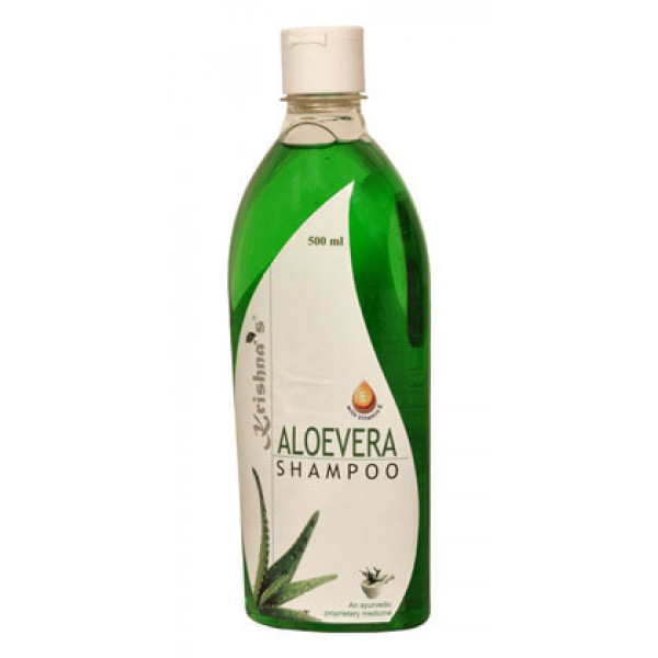Krishna's Aloe Vera Shampoo, 500ml