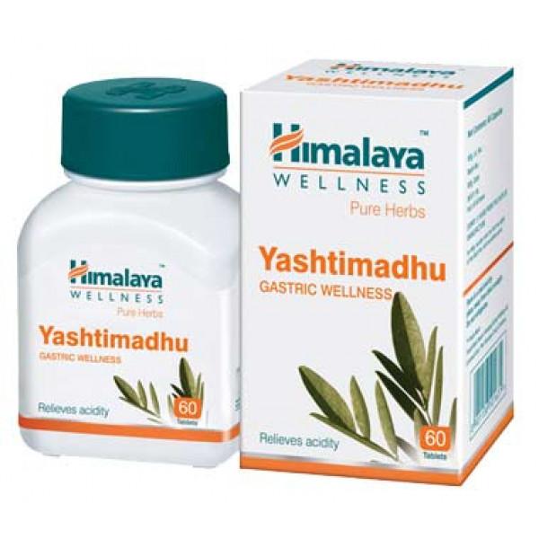 Himalaya Wellness Yashtimadhu, 60 Tablets