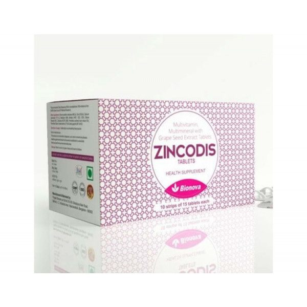 Bionova Zincodis, 10x15 Tablets