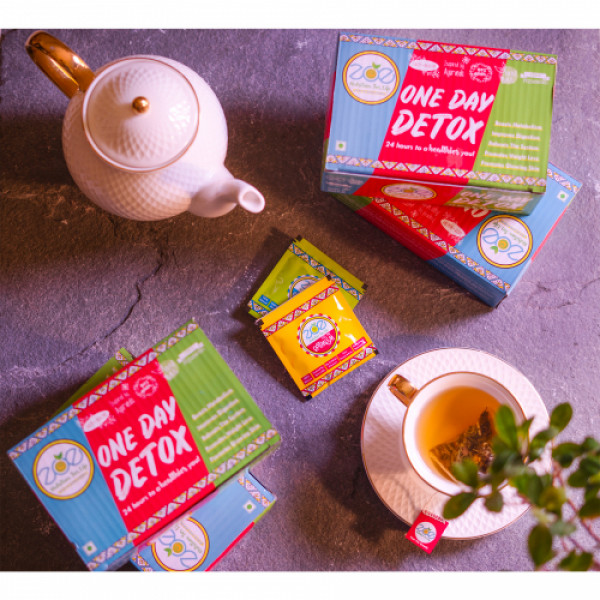 Zoe One Month Detox Plan, Pack of 4