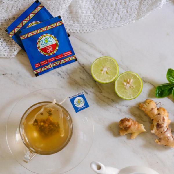 Zoe Caffeine Free Herbal Yoga Tea, 28 Tea Bags