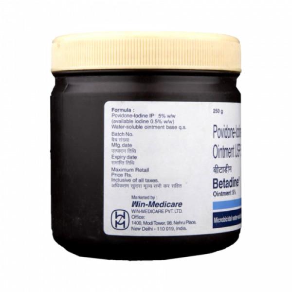 Betadine 5% Ointment, 250gm