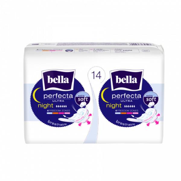 Bella Perfecta Ultra Night Extra Soft, 14 Pieces