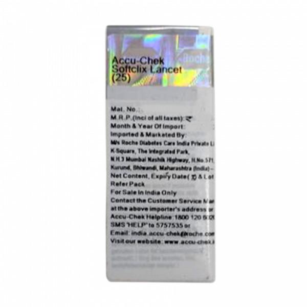 Accu-Chek Softclix Lancets, 25 Pieces