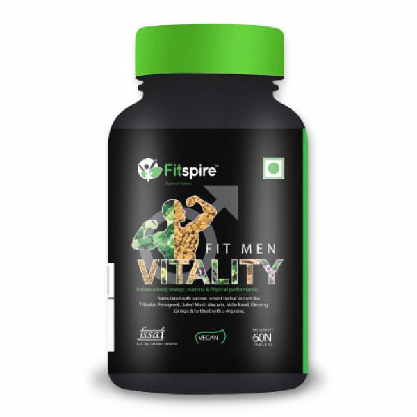 Fitspire Vitality For Men, 60 Tablets