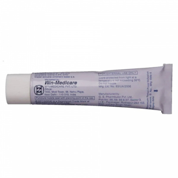 Betadine Ointment 5%, 25gm