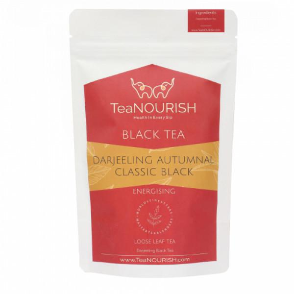 TeaNOURISH Darjeeling Autumnal Classic Black Tea, 100gm